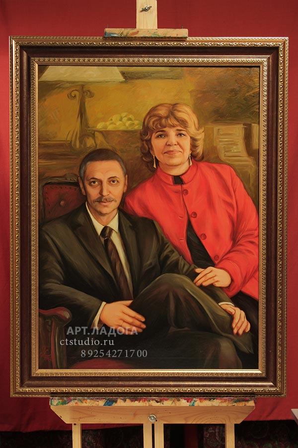 портрет маслом по фотографии в волгограде главной самой личной